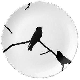Swallow Martin Bird Plates.