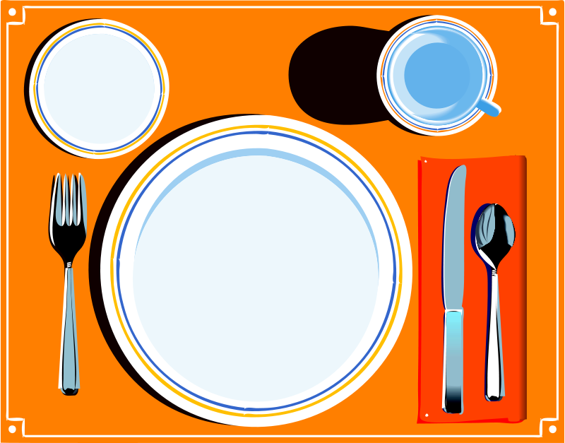 Free Dinner Setting Cliparts, Download Free Clip Art, Free.