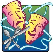 Dinner theater clipart 3 » Clipart Portal.