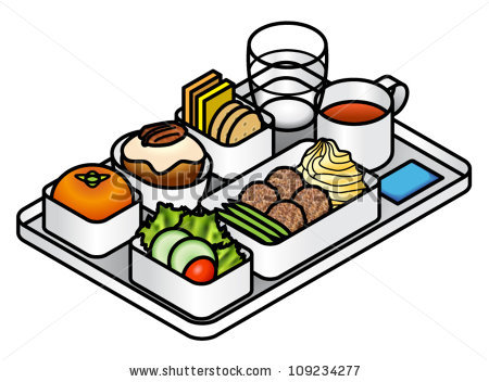 Dinner Tray Clipart.