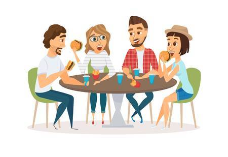 Dinner with friends clipart 2 » Clipart Portal.