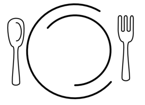 Plates Clipart.
