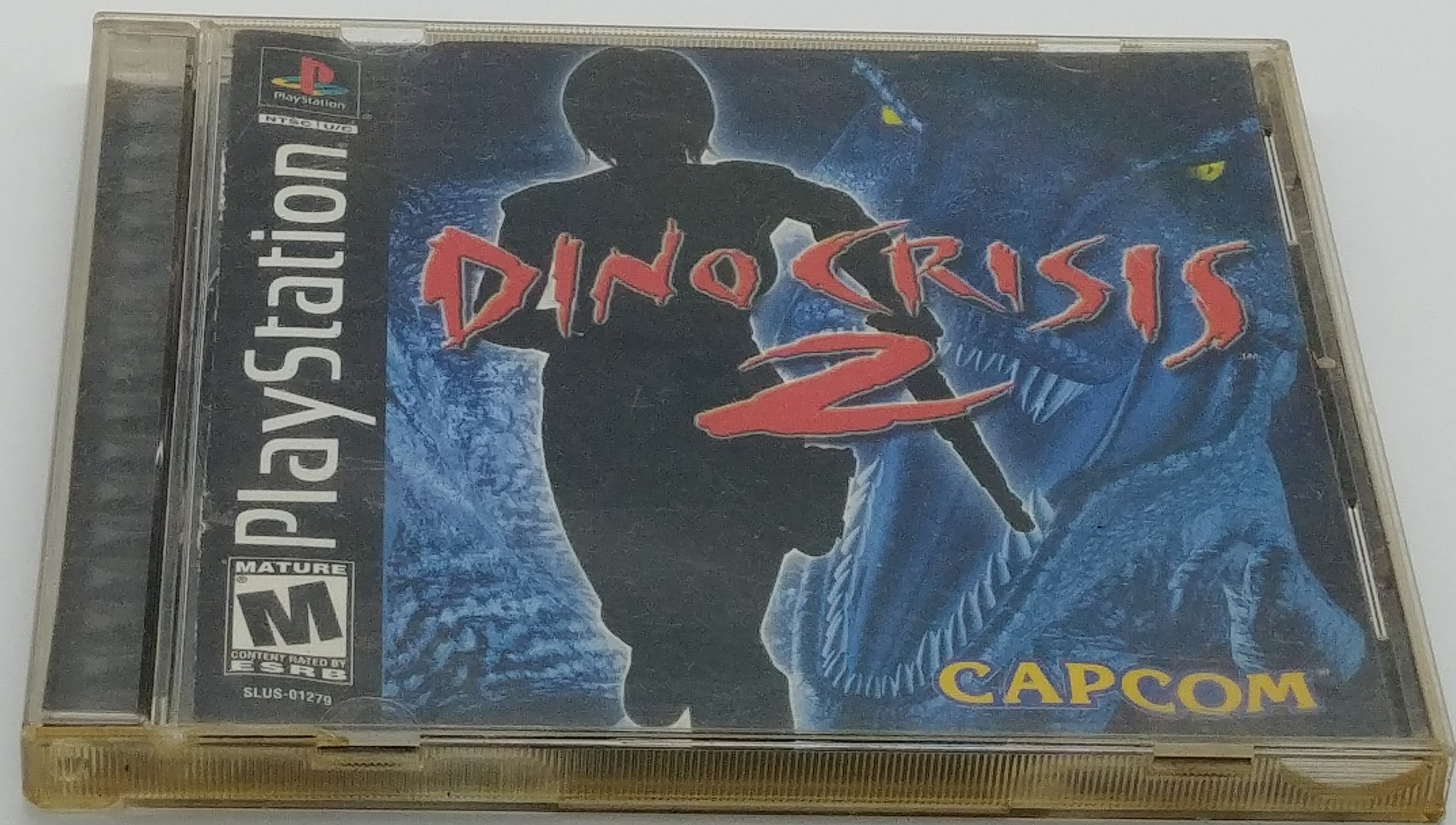 Dino Crisis 2 Near Complete Sony PlayStation 1.