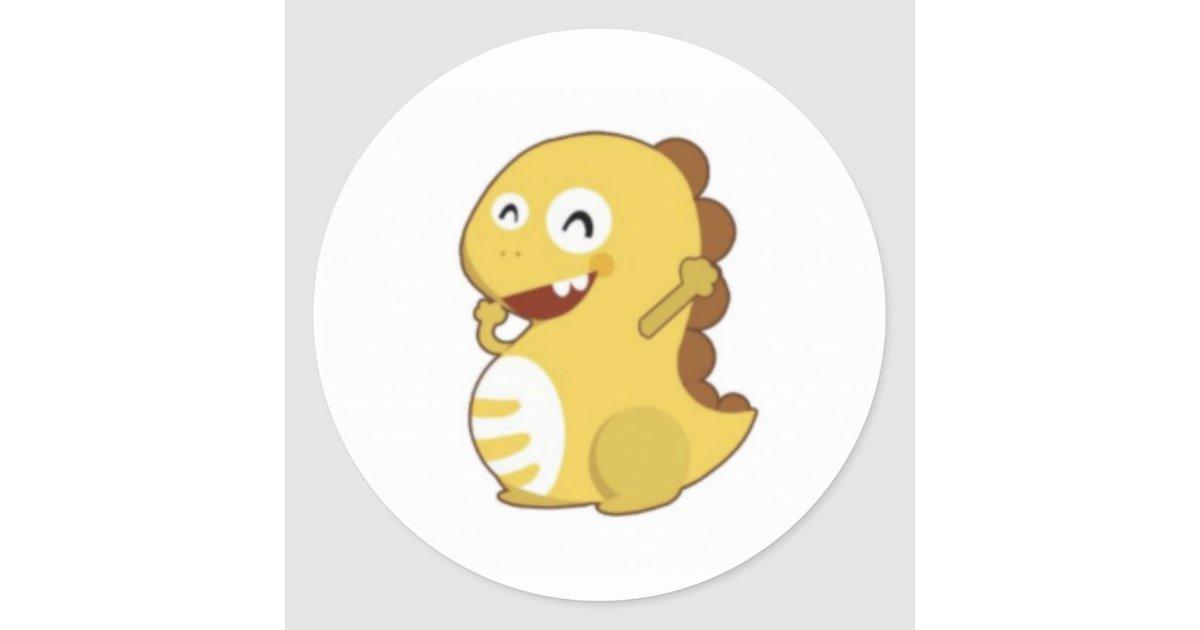 VIPKID Dino Sticker.