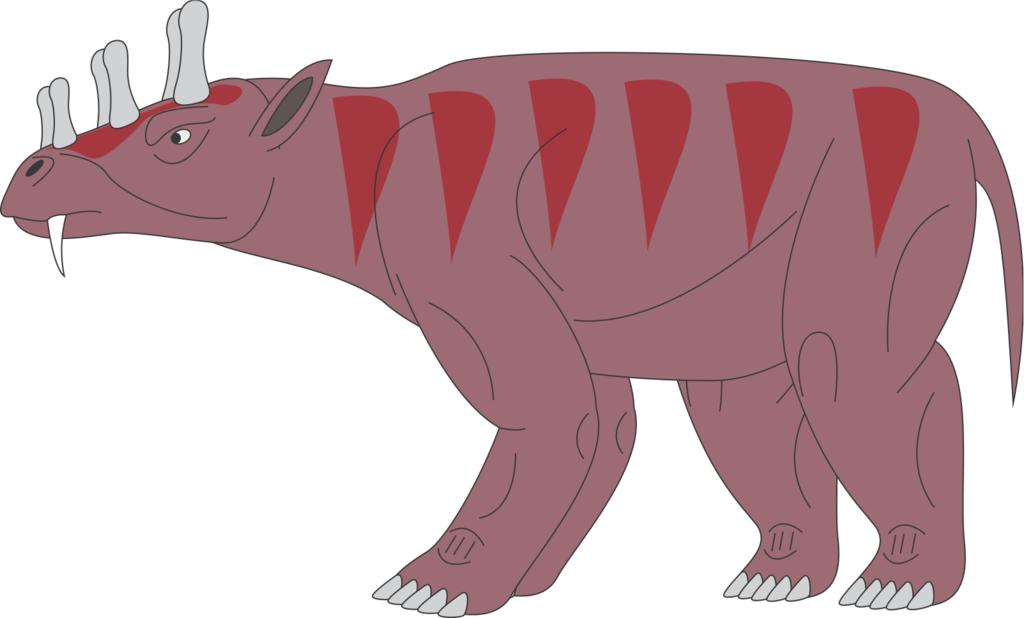 uintatherium.