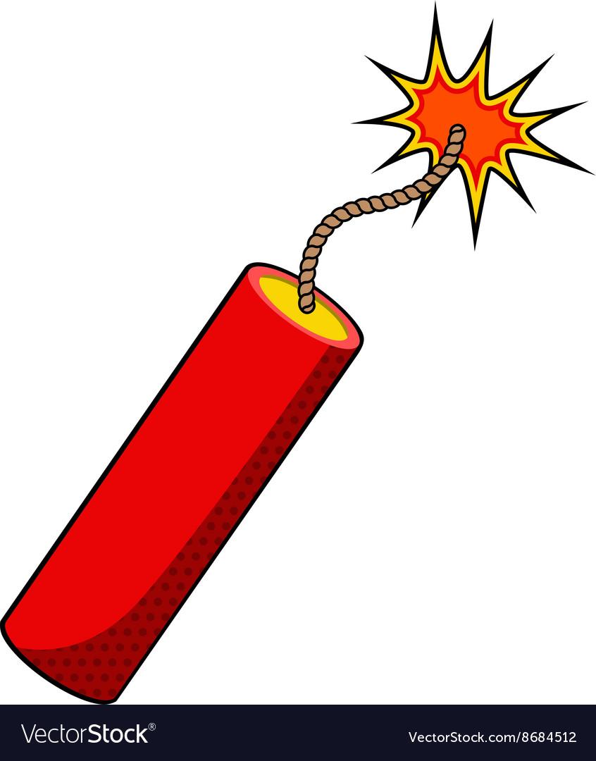 Stick of dynamite.