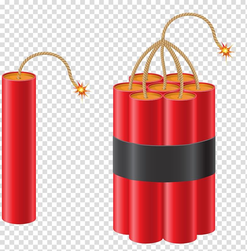 Dynamite illustration , Gunpowder explosives transparent.