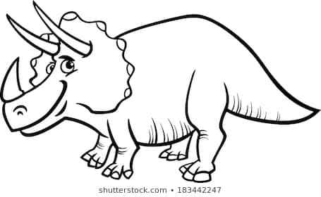 Dinosaur black and white clipart » Clipart Portal.
