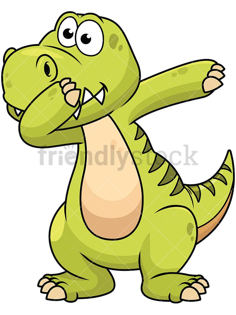 Dabbing Dinosaur.