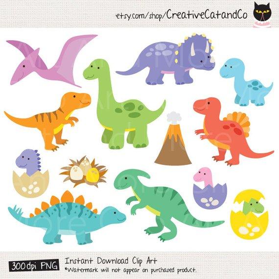 Dinosaur Clipart Dinosaur Clip Art T Rex Clipart Baby.
