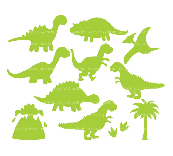 ON SALE Dinosaur Digital clip art Dinosaur clipart boy.