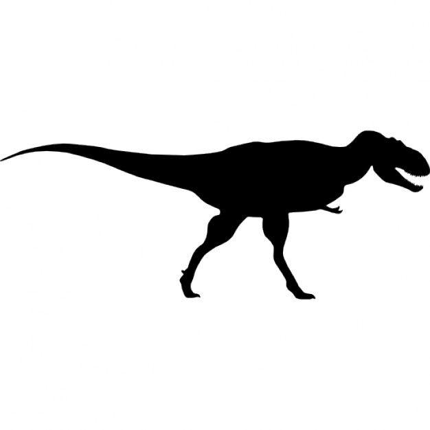 Dinosaur Clipart Silhouette Clipground