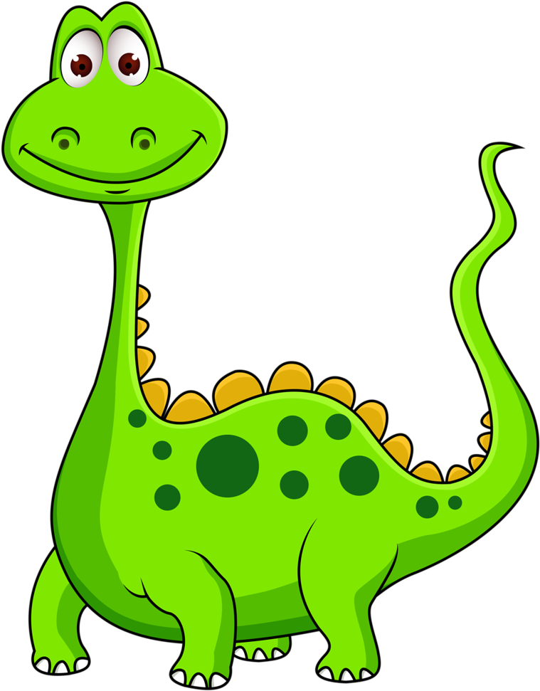 Dinosaurs Clipart Lime Green.