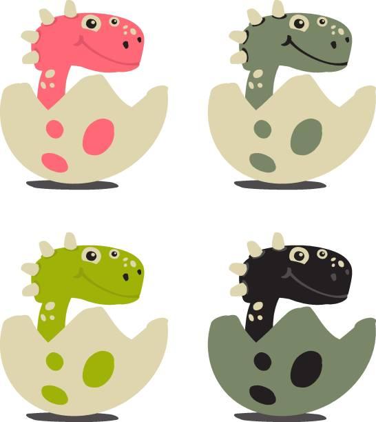 Dinosaur Egg Illustrations, Royalty.