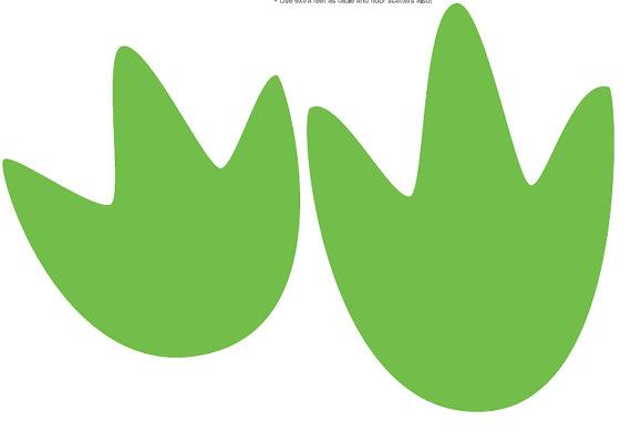Clipart dinosaur footprints.