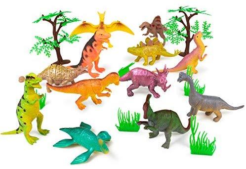 Meklines Dinosaur Party Favors Set.