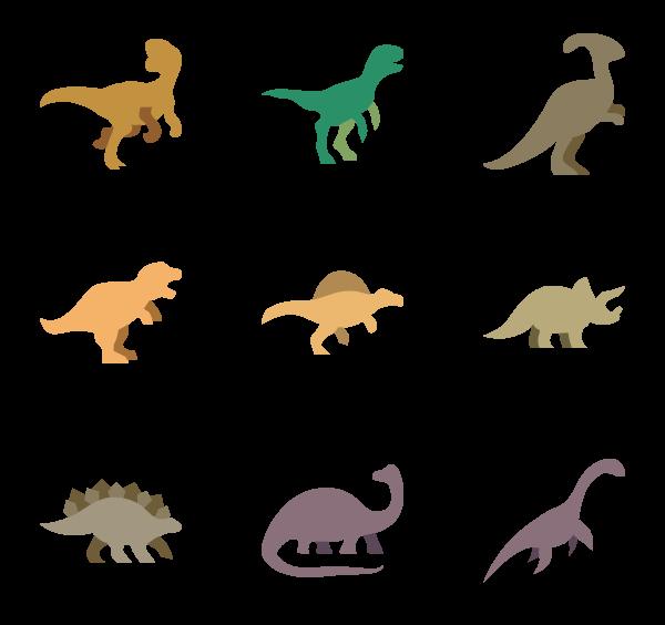 Dinosaur Icons.
