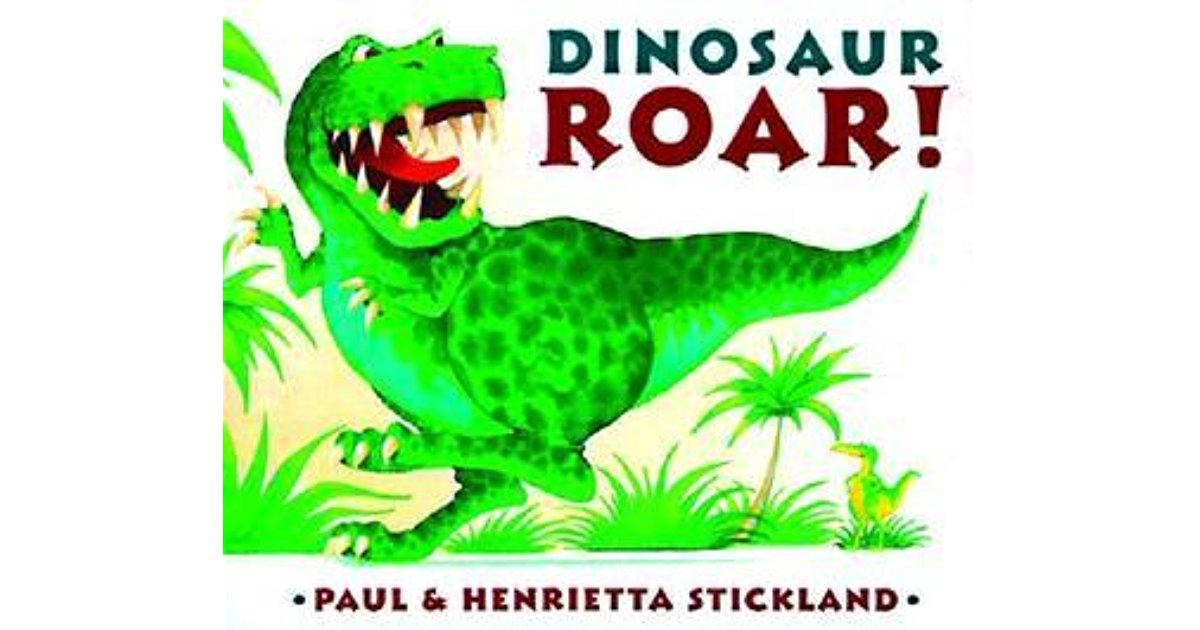 Dinosaur Roar! by Paul Stickland — Reviews, Discussion, Bookclubs.