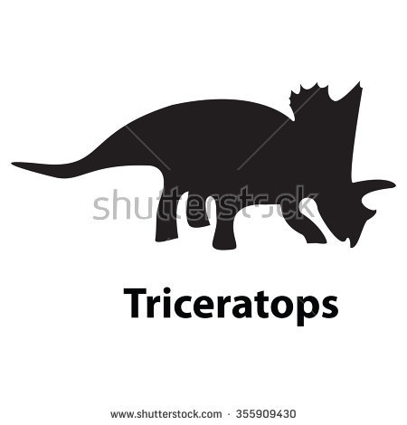 dinosaur silhouette clipart with no background #12
