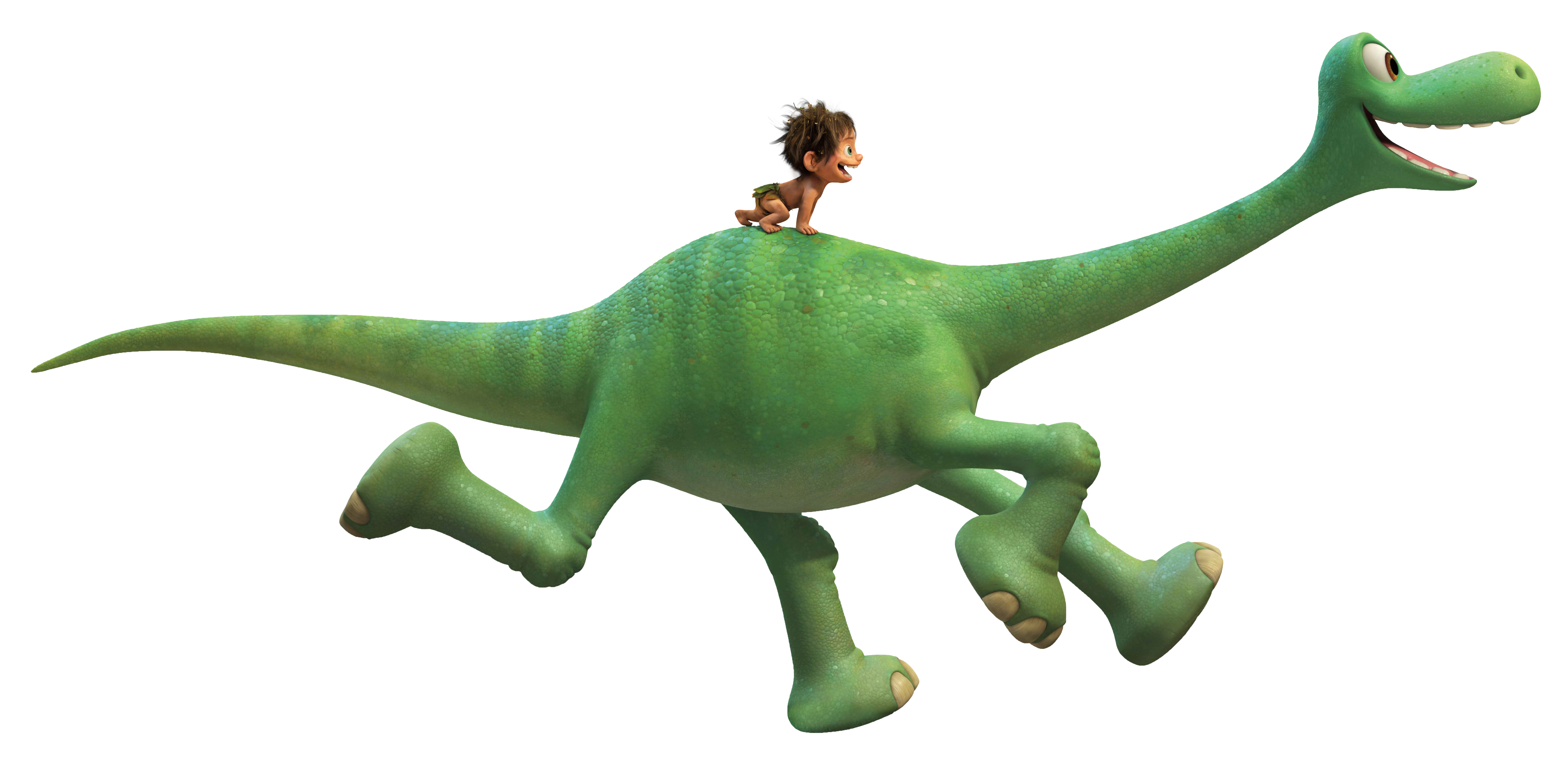 The Good Dinosaur Transparent PNG Clip Art Image.