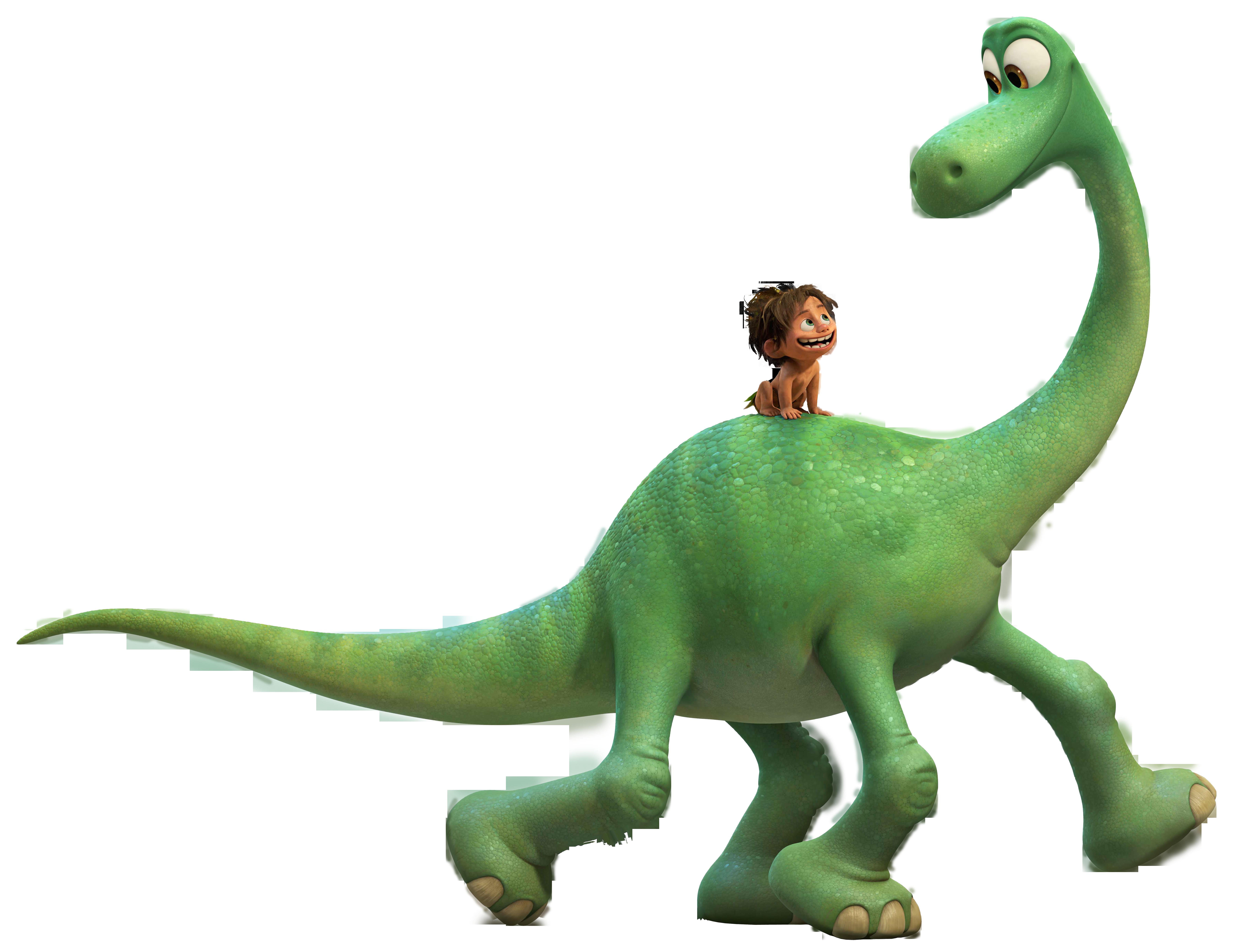 The Good Dinosaur PNG Clip Art Image.