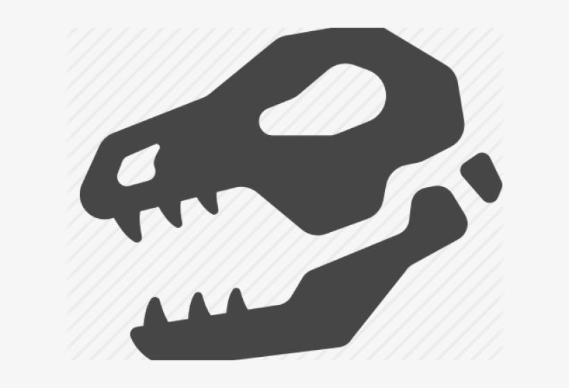 Skull Clipart Dinosaur.
