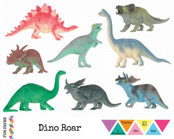 Dinosaur Toy Clipart.