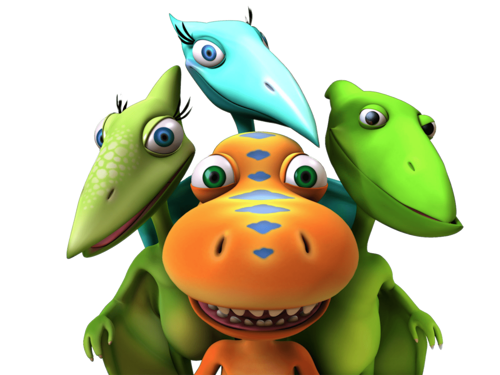 Dinosaur Train Buddy and Friends transparent PNG.