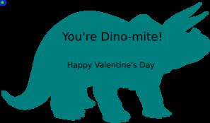 Dinosaur Valentine Clip Art at Clker.com.