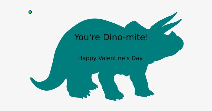 Valentine Dinosaur Clipart.