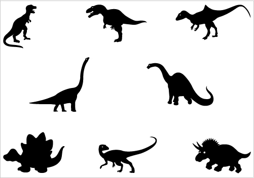 Free Dinosaur Silhouette Free, Download Free Clip Art, Free.