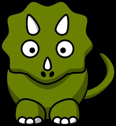 Cute Dinosaur Clipart.