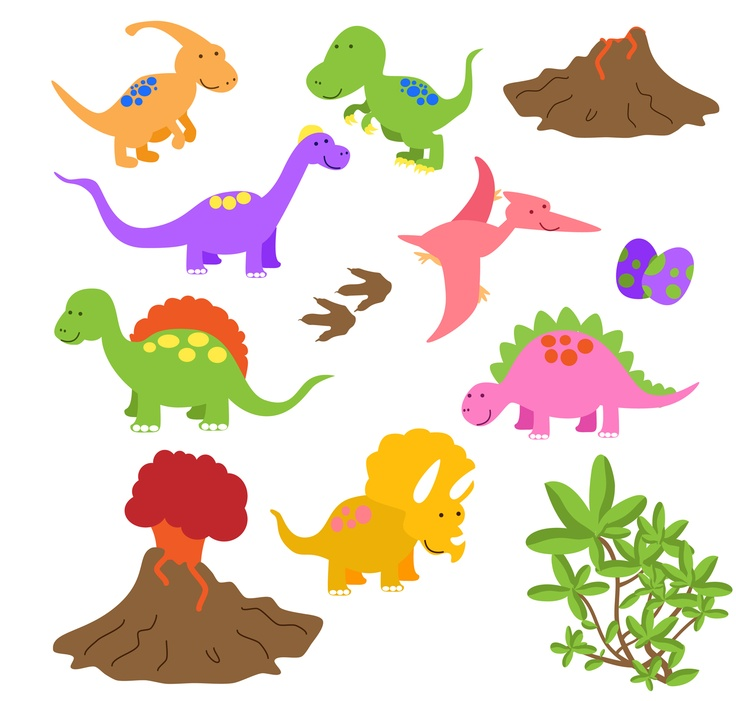 clipart dinosaurs free #10