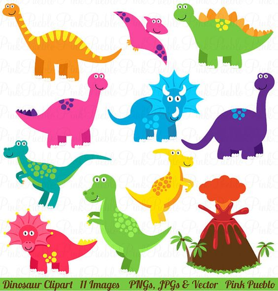 Dinosaur Clipart, Dinosaur Clip Art, Great for a Dinosaur.