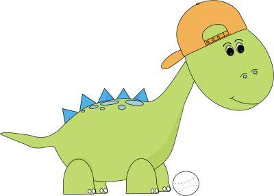 Preschool Dinosaur Clipart.