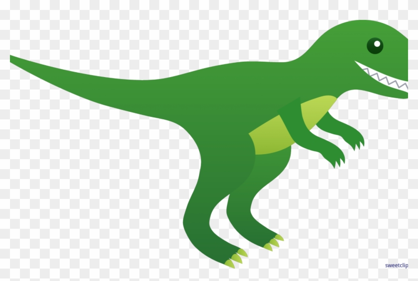 Green Dinosaur Clipart, HD Png Download (#2376565).