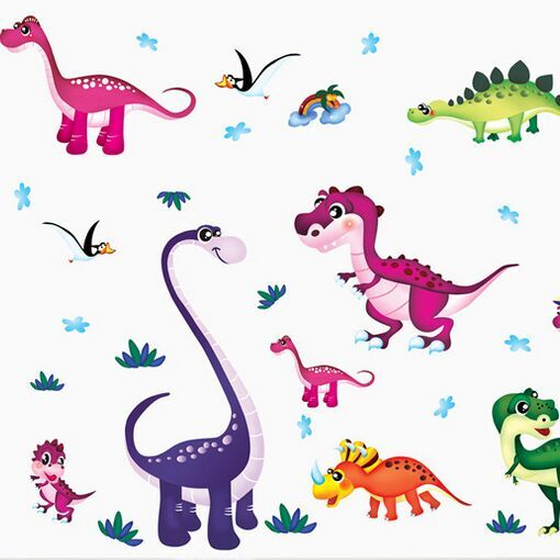Online Buy Wholesale dinosaur wall sticker from China dinosaur.
