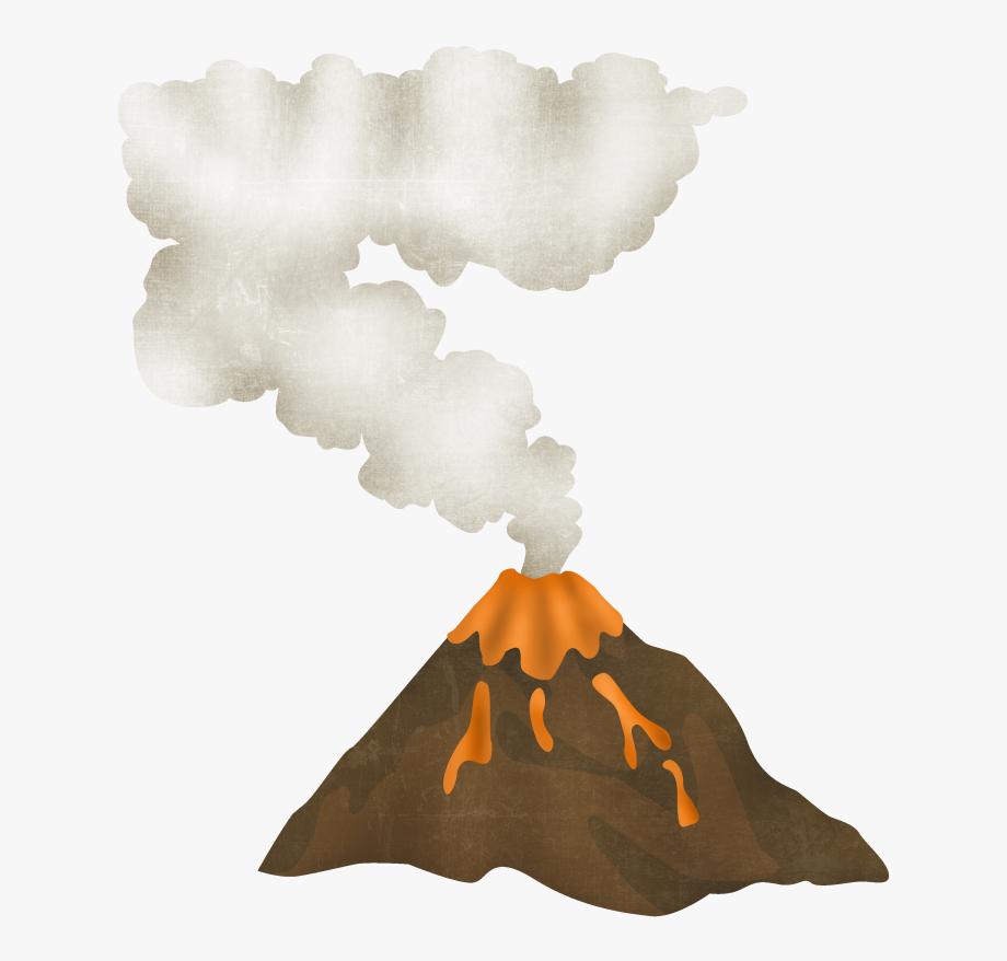 Dinosaur Volcano Clipart , Transparent Cartoon, Free.