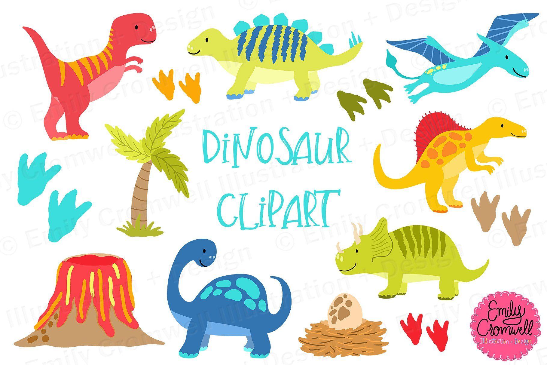 Dinosaur Clipart #colored#dinosaur#volcano#tree in 2019.