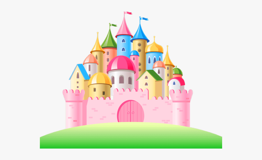 Disneyland Clipart Princess Castle.
