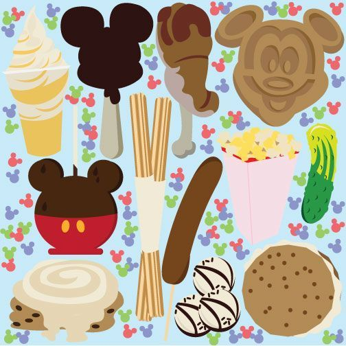 disneyland clipart vector.