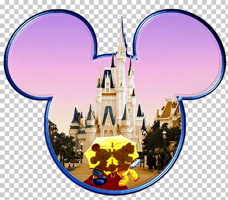 Walt Disney World Main Street, U.S.A., Mickey kiss PNG.