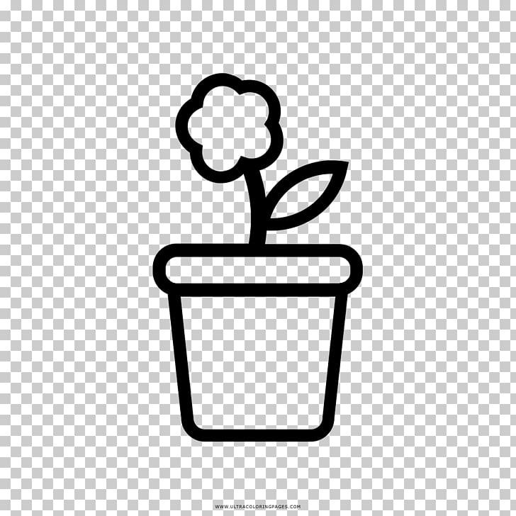 Flowerpot Drawing Coloring book Como Dibujar, flower pot PNG.