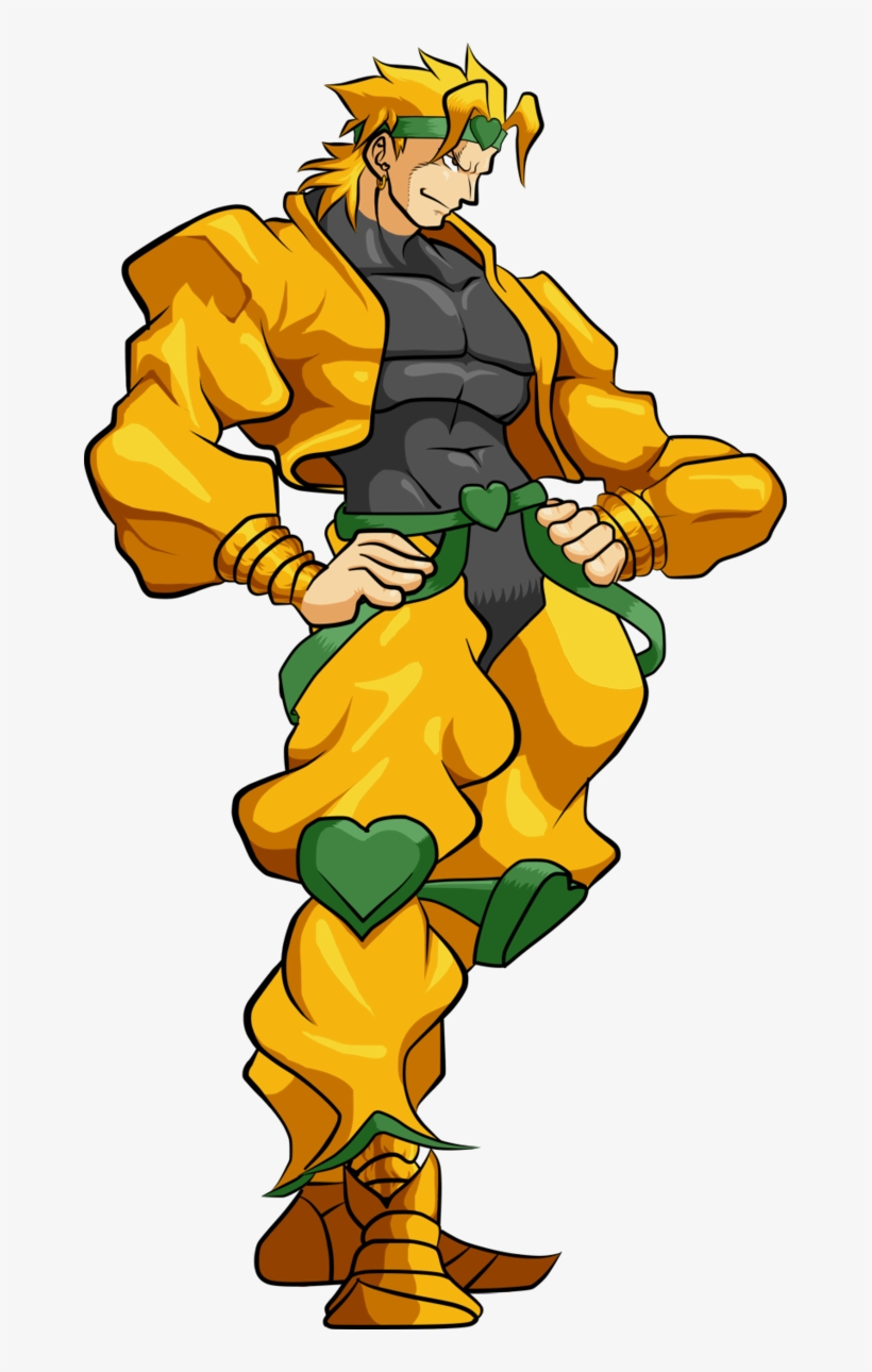 Dio Brando Hd By Lucashikaru On Deviantart Png Free.
