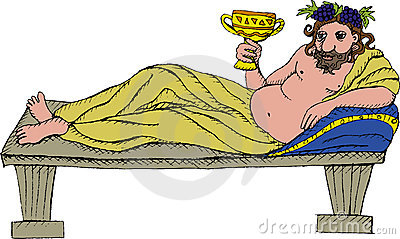 Dionysus Stock Illustrations.