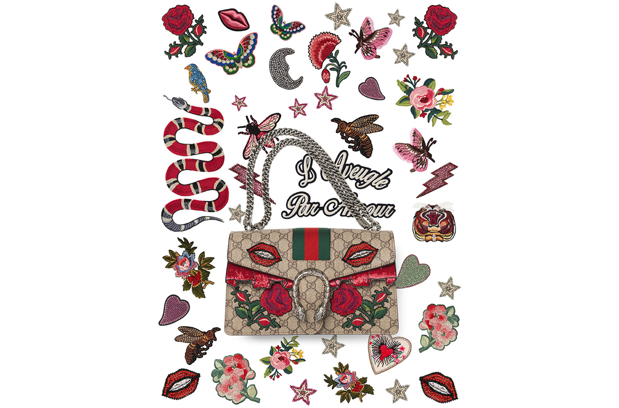 You Can Now Customize Your Own Gucci Dionysus Bag.