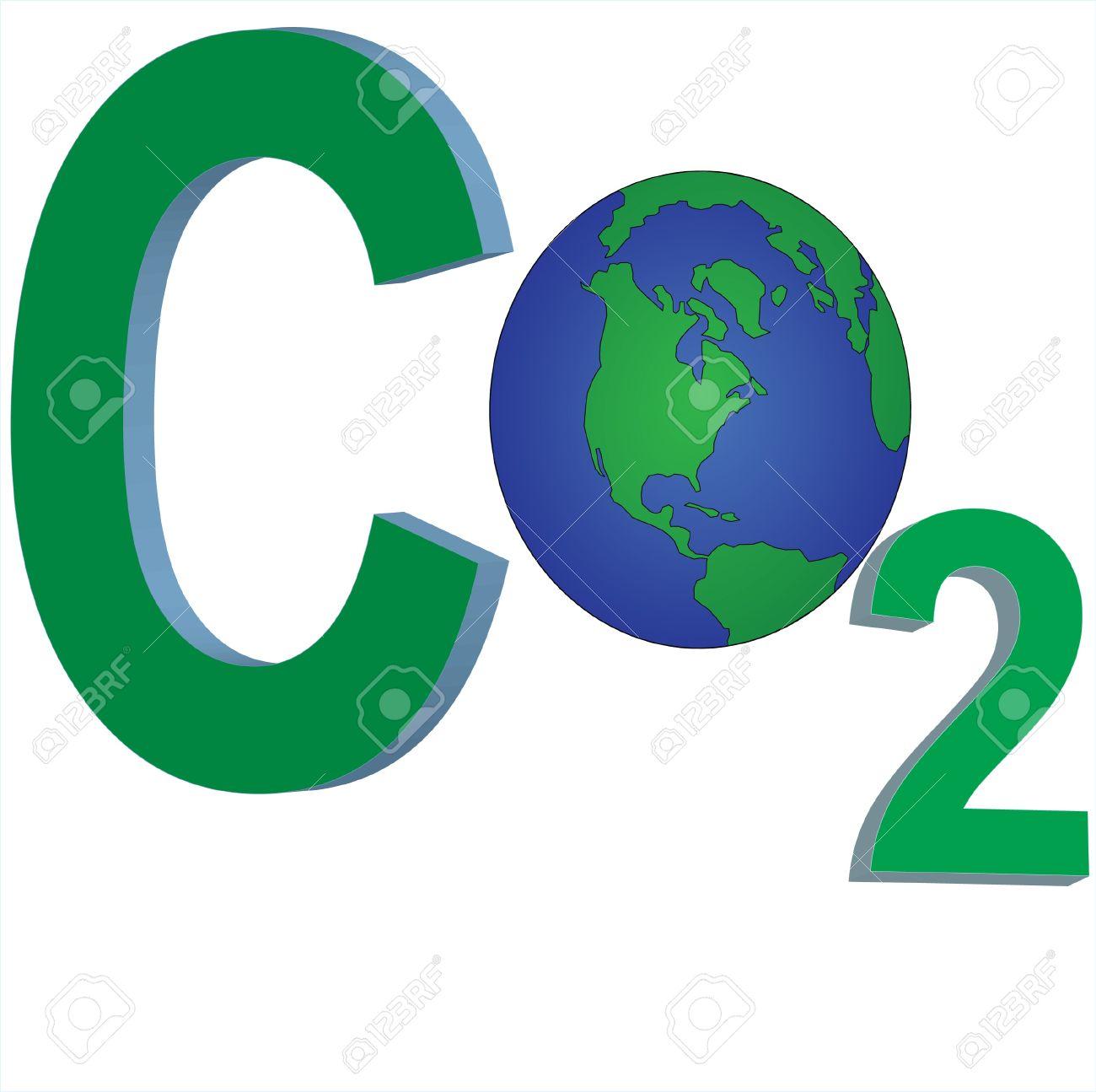 Carbon gas clipart.