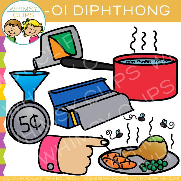 OI Diphthong Clip Art.