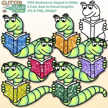 Free bookworm clipart, for you, for free!Bookworm Clip Art Dipped.