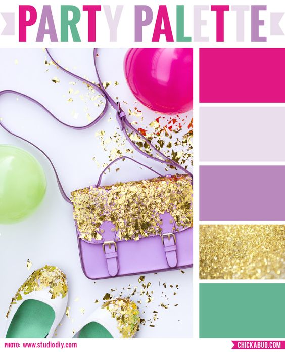 Party Palette: Glitter.